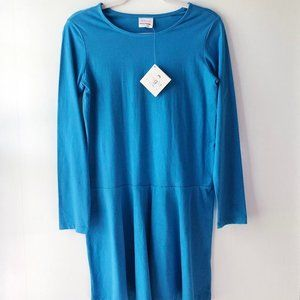 HANNA ANDERSSON Long Sleeve Brights Dress